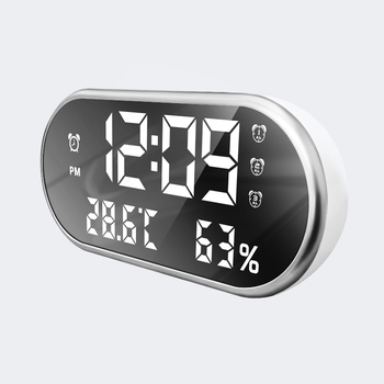 Hot Sale Big Screen Promotion Electronic Bedroom Hotel Digital LED Thermometer Calendar Alarm Clock
