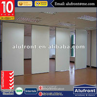 Aluminium thermal insulation folding door movable partition