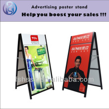 2016 hottest items european style advertising display outdoor,floor poster stand H25