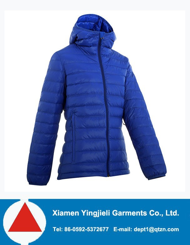 2015 stylish womens lightweight down jacket,jacket in packet
