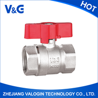Valogin Best Selling PN-25 Brass Ball Globe Valve