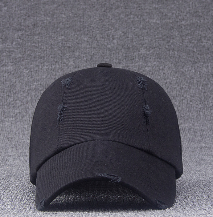 Character Fashion 6 Panel Plain Distressed Baseball <strong>Cap</strong> For Adult