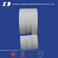 2015 Most Popular label for zebra printer roll thermal paper for label