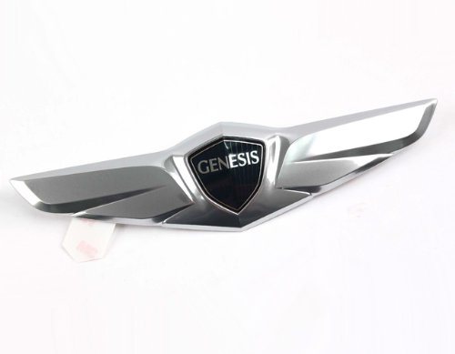 Hyundai Motors Genuine 86330B1000 Rear Trunk Lid Tail Gate Wing Emblem 1-pc For 2015 Hyundai Genesis Sedan