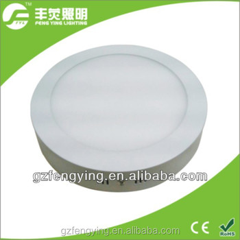 24W led surface mounted round down light, ultrathin anti-fog panel light
