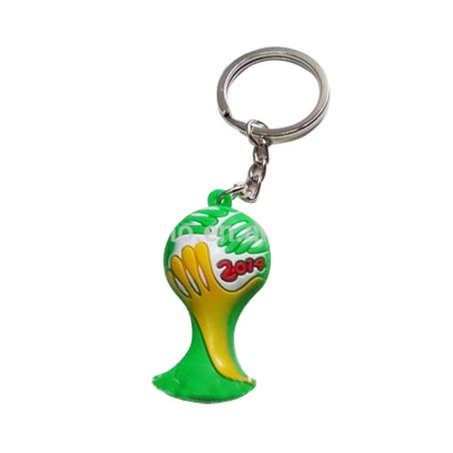 Promotional The World Cup mascot Keychain