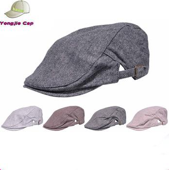 Cotton Washing Flat Cap Cabbie Hat Gatsby Ivy Irish Hunting Newsboy ... e4d68be9f09c