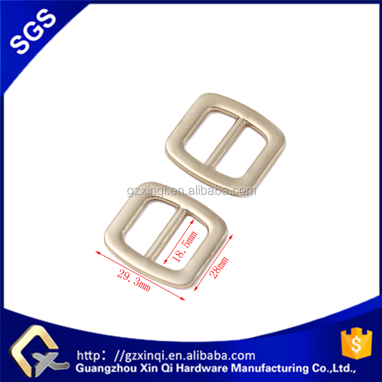 XINQI handbag hardware cheap metal buckle zinc alloy type in bag accessories