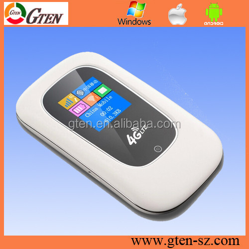 Customize competitive price small size pocketable wifi 4g/lte modem 0