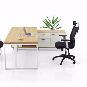 the new office furniture wooden executive L desk/office table with great price