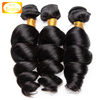 BOLIN Factory Wholesale natural color loose wave 100% 8A Unprocessed Remy Hair Weave Bundles Human Hair Extension