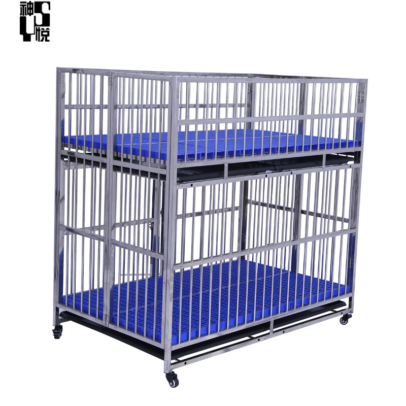 2019 new style pet mother running cage  folding