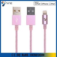 wholesalers in china cell phone MFI original offical genuine 120cm rosegold cable for iphone 6 usb cable