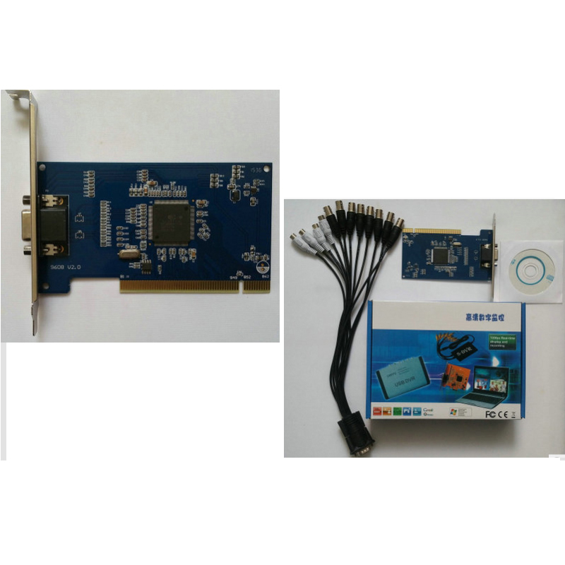 4 CH/8CH Video / Audio DVR Card