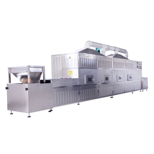 industrial microwave tunnel dryer potato powder drying machine rice flour roasting and drying machine