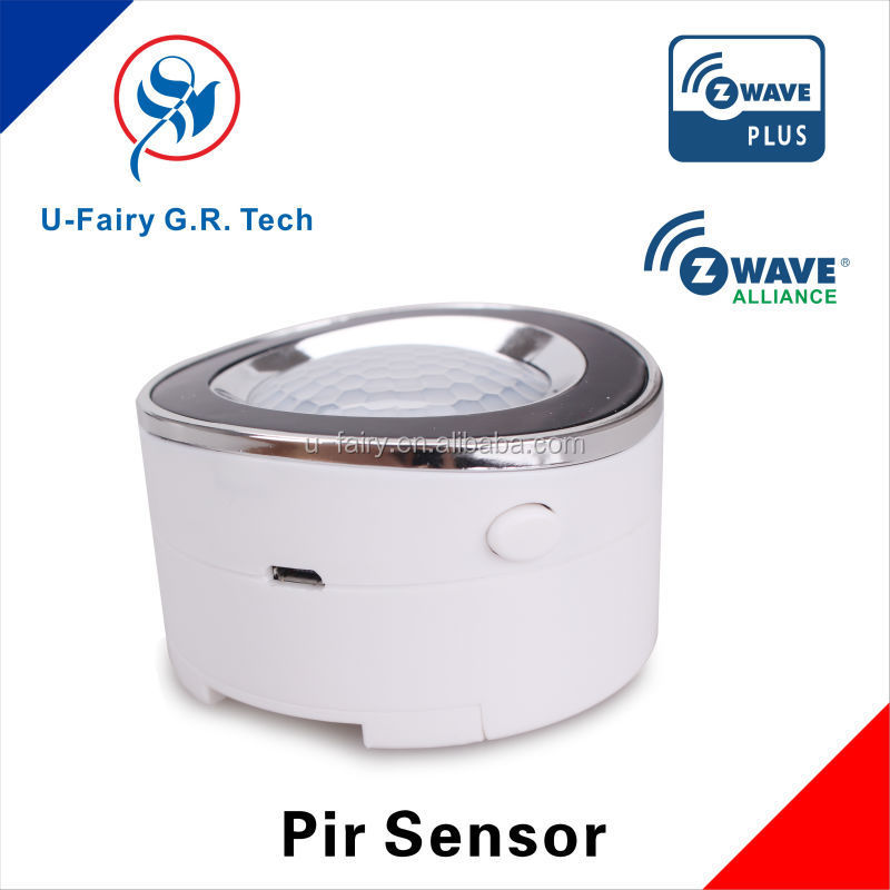 Low power consumption motion sensor infrared Z-wave PIR sensor to bring security for your family