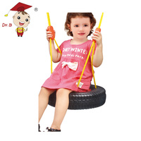 Baby Outdoor Toys Tyre Shape Plastic Ring Swing For Kids Toys