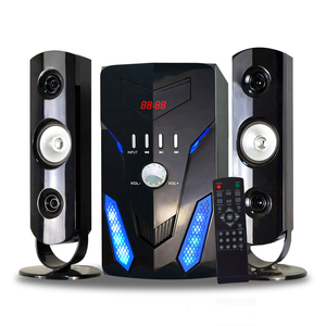 Subwoofer And Speaker Surround Sound Home Theater 2.1 Ch Multimedia Speaker System Karaoke Home Theatre System