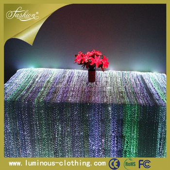 Exceptionnel Hot Sale Luxury Table Cloth Led Lighting Table Cover Light Up Chair Covers  And Tablecloth