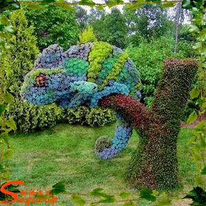 Wholesale artificial topiary for sale artificial topiary fake grass animal