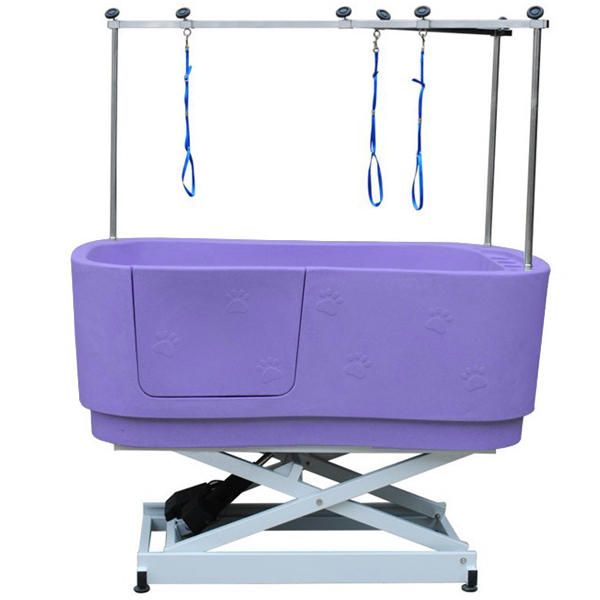 best sell electric plastic dog grooming bath tub /H-112