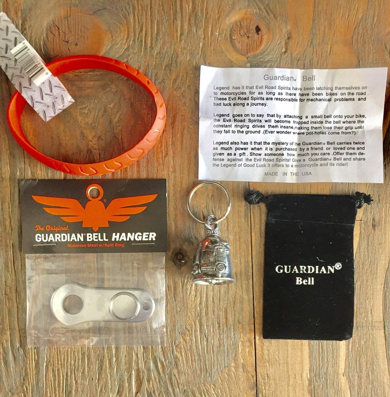 Guardian® Bell TRUCKER COMPLETE KIT W/HANGER & WRISTBAND