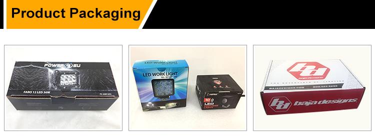 5Inch  LED Pods Spot Light LED Light Bar Waterproof Work Light Quad Row Fog Lights for Trucks ATV UTV