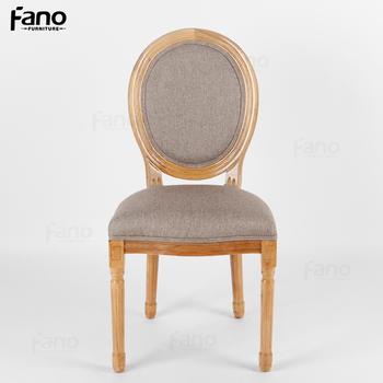 Style Francais Louis Meubles Bois Fantome Chaise A Dossier Rond Pas Cher