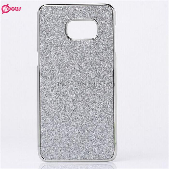 New Coming Glitter Bling Skin Back Cover Hard Case For S7 and S7 edge