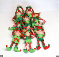 free sample promotional stuffed soft elf toys for christmas christmas elf plush toy