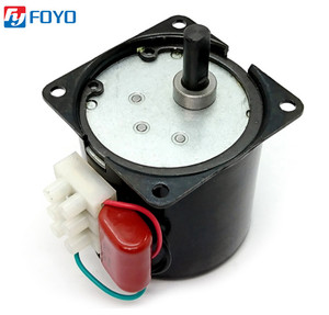 60KTYZ 220V 14W Permanent Magnetic Electric Synchronous Motor Gear 50Hz 15r/min Hot Sale