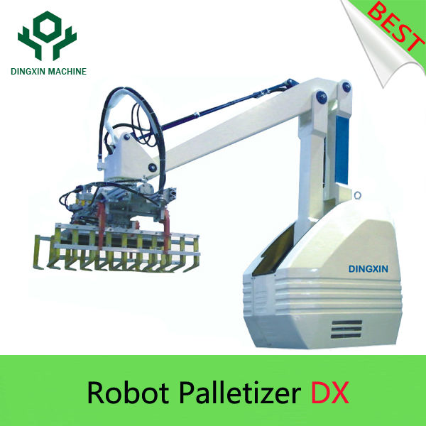 Robot palletizer/Palletizing machine with versatile arms