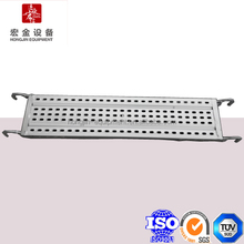 Galvanized Steel Plank With Perforated Design For Scaffold