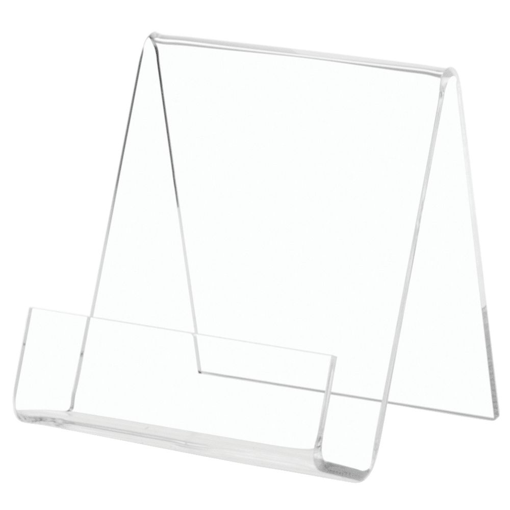 Book Stand Acrylic Plate Holder