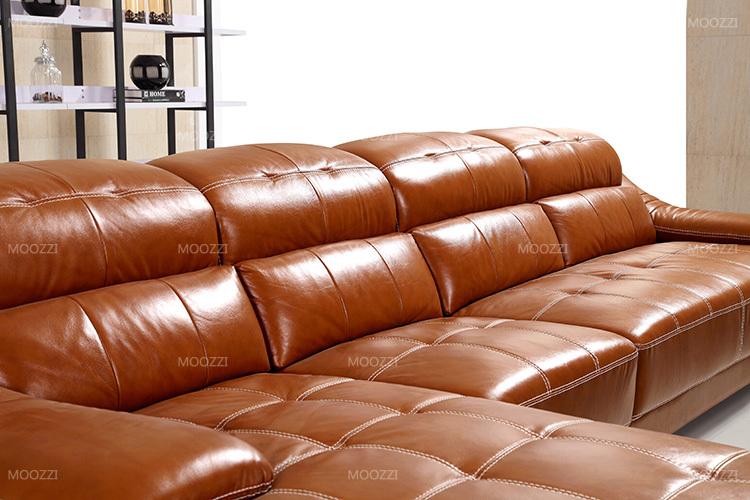 modern live room bright color long sofa set furniture. Black Bedroom Furniture Sets. Home Design Ideas