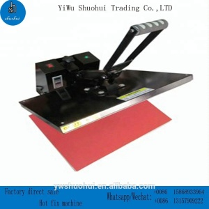 40x60 heat press transfer machine iron on hot fix rhinestone machine