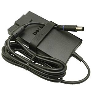 Dell 90W AC Power Adapter Charger For Dell Inspiron series- Desktop Laptop Notebook Computers (Flat Version - Style Flat Version)