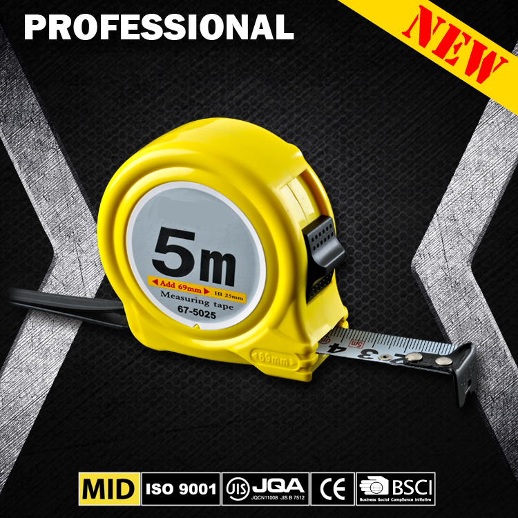 ABS 3m 5m 15m small selling top quality promotional plastic tape measure