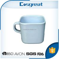 China supplier wholesale recycle use eco friendly melamine custom coffee mug