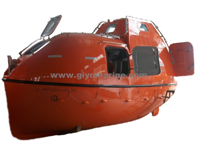 High Quality Totally Enclosed Free Fall Life Boat