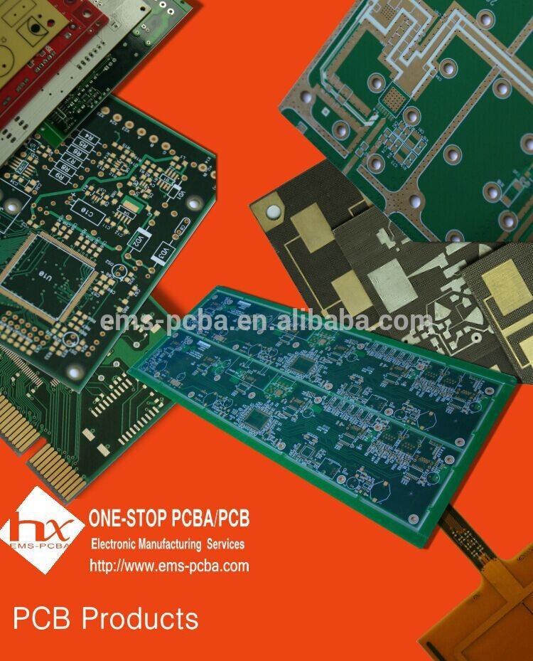 Orador placa de circuito PCB, PCB Assembly para 5.1 home theater