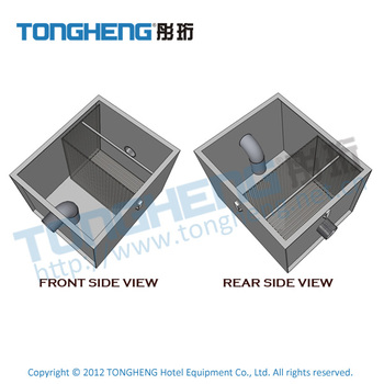 Kitchen Grease Trap Of Stainless Steel