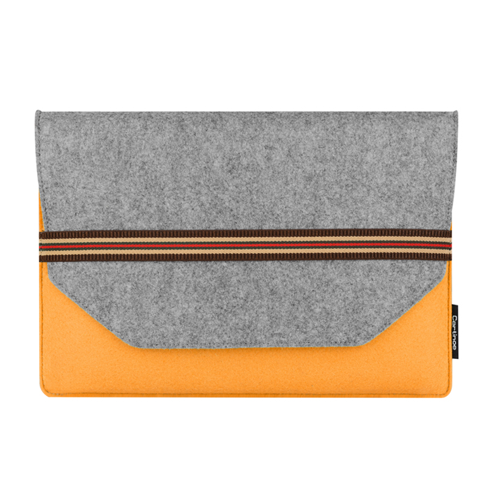 Import wool felt cover case protective laptop bag for macbook air Pro Retina laptop