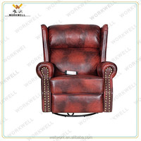 WorkWell high quality modern new design recliner single chair Kw-Fu47