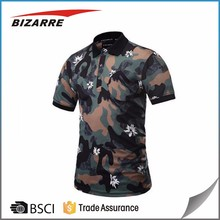 Custom Breathable Sublimated Polyester Spandex Polo-Shirt For Men