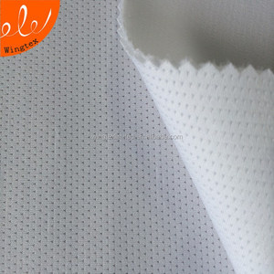 jacquard surface padded sandwich polyester fabric for dress bag garment