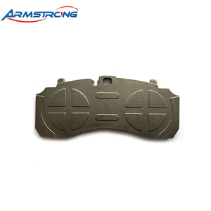 Good Reputation Bus Truck Disc Brake Pads Back Plate