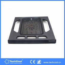 Techcool Laptop Cooler Pad Quiet Cooling Stand USB-Port for 17' netbook and IOS all kind of laptop