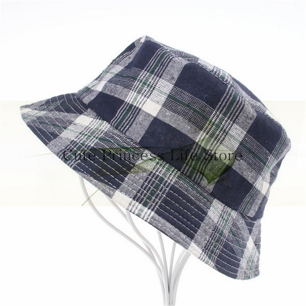 Selling Best plaid bucket hat wholesale,terry towel bucket hat,polo cotton bucket hat