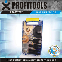 8 Pcs oscillating and Quick fit Multi tool blade set for Household Tool and DIY